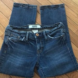 Cropped Gap low rise jeans size 2a